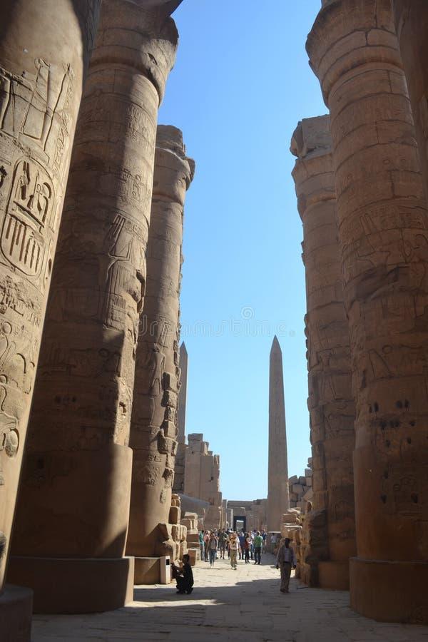 Il bello Egitto, Luxor fotografie stock libere da diritti