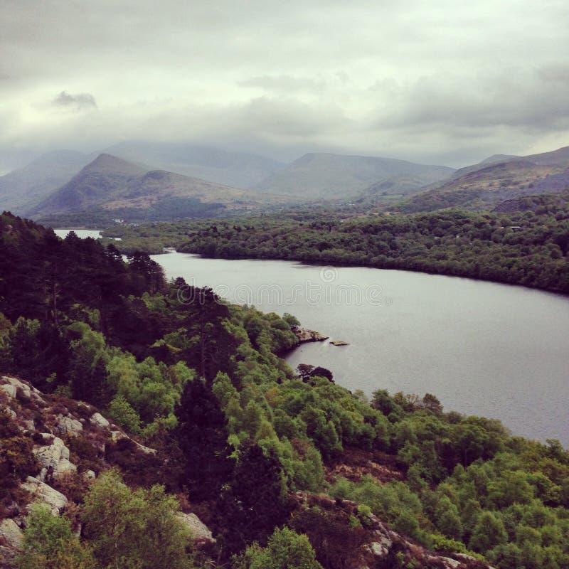 Il bello Galles fotografia stock libera da diritti
