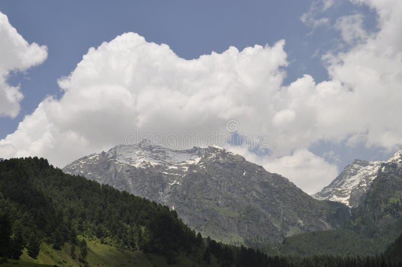 Il bello Kashmir fotografia stock
