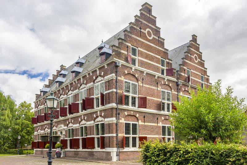 Il bello museo di Mauritshuis nella città storica Willemstad, Paesi Bassi della fortezza immagini stock