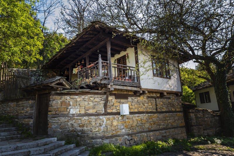 Il bello museo etnografico Etara vicino alla città di Gabrovo Bulgaria fotografia stock libera da diritti