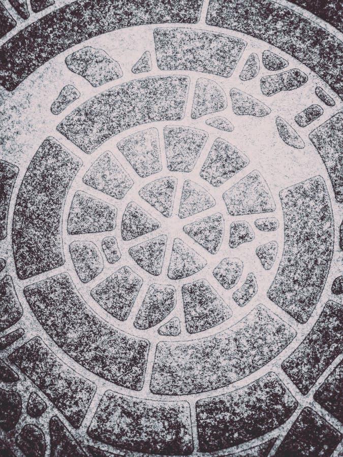 Il bello primo piano struttura la pietra della parete ed il fondo astratti della pavimentazione in piastrelle fotografie stock