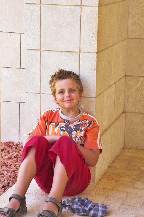 Il bello ragazzo immagini stock libere da diritti