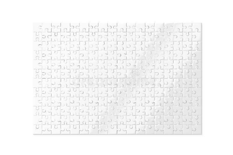 Il bianco in bianco imbarazza il modello isolato, del gioco la rappresentazione 3d royalty illustrazione gratis
