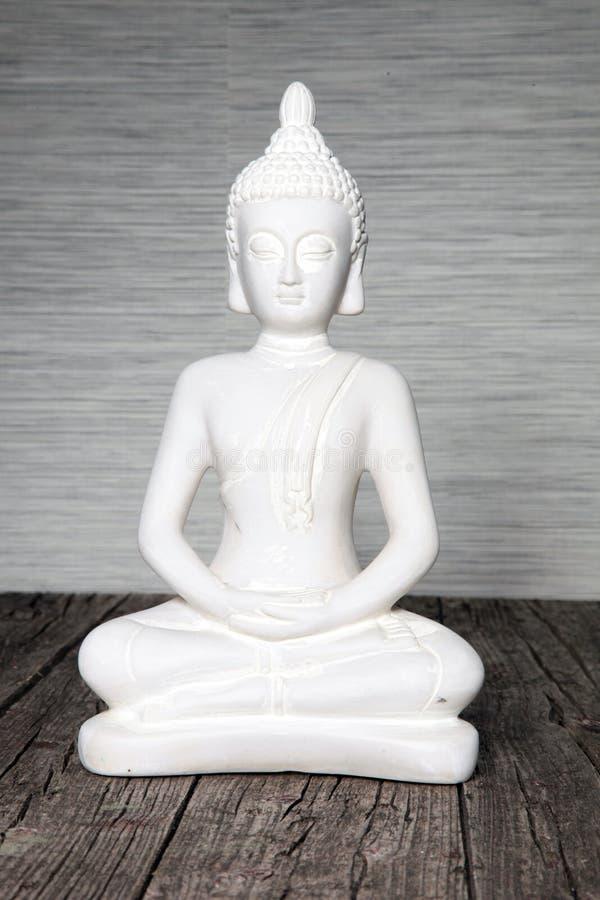 Statua messa di Buddha fotografia stock