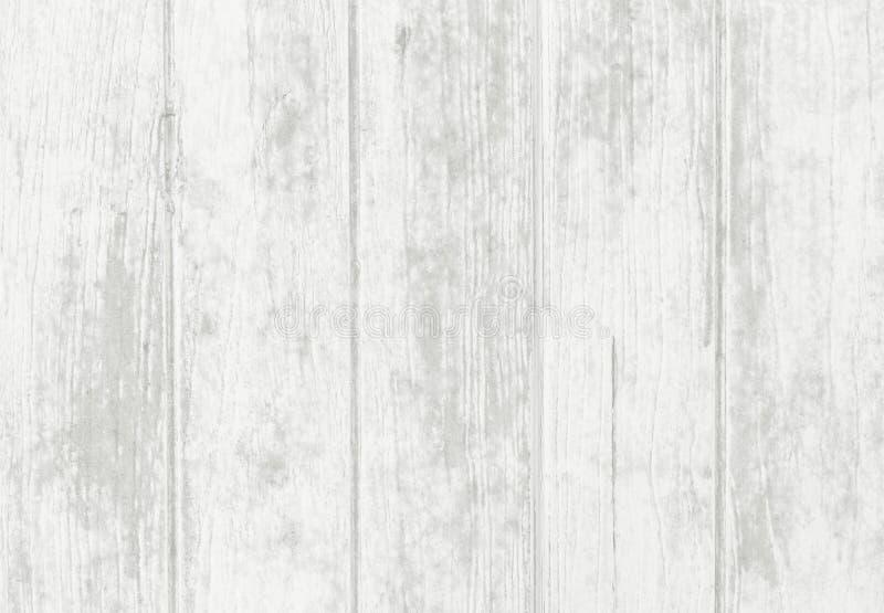 Il bianco ha dipinto il fondo astratto di legno, struttura di legno con il vecchio modello naturale fotografia stock