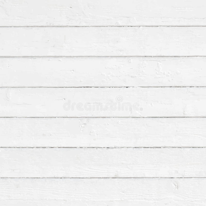 Il bianco ha dipinto la parete, recinto, pavimento, superficie della tavola illustrazione di stock