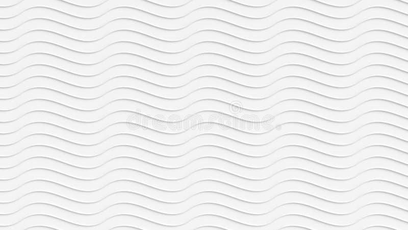 Il bianco ondeggia il fondo fotografie stock