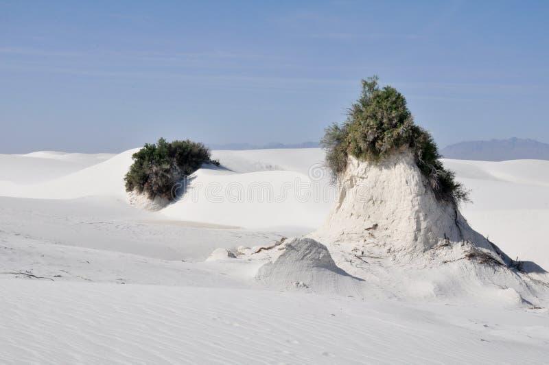 Il bianco smeriglia il monumento nazionale, New Mexico fotografia stock libera da diritti