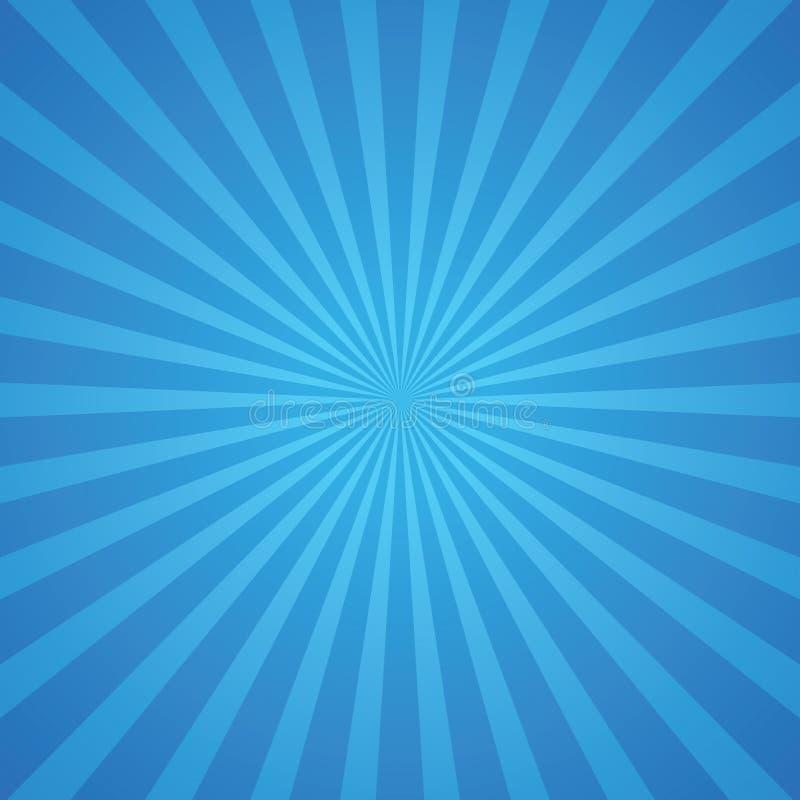 Il blu rays il fondo royalty illustrazione gratis