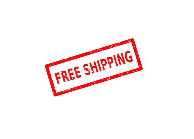 Il bollo libera il trasporto royalty illustrazione gratis