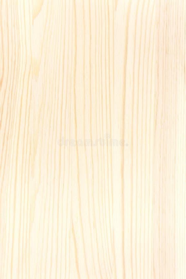 Il bordo di legno giallo con i modelli naturali struttura il fondo fotografia stock libera da diritti
