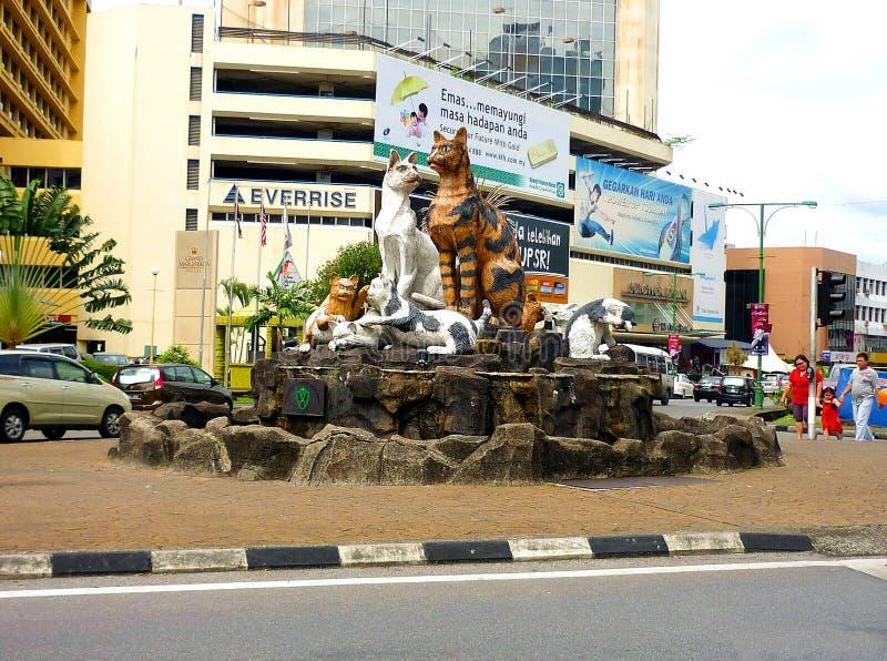 Download Il Borneo Sarawak, Kuching immagine stock editoriale. Immagine di architettura - 55360634