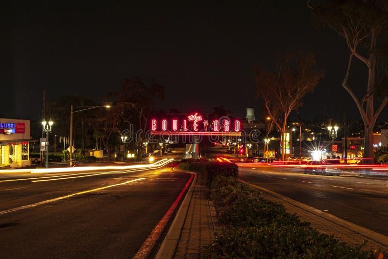 Il boulevard immagini stock