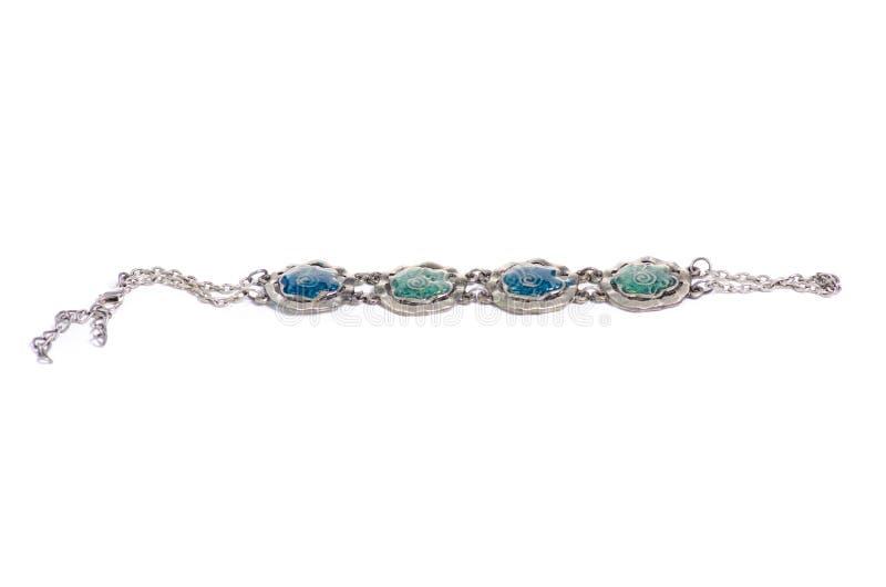 Il braccialetto lapida jewerly il bijouterie immagine stock libera da diritti