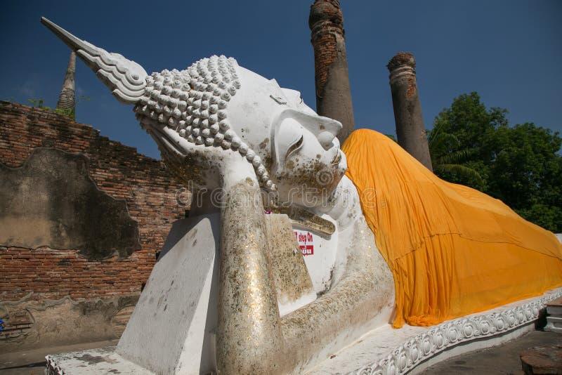 IL BUDDHA DI AYUTTHAYA immagine stock