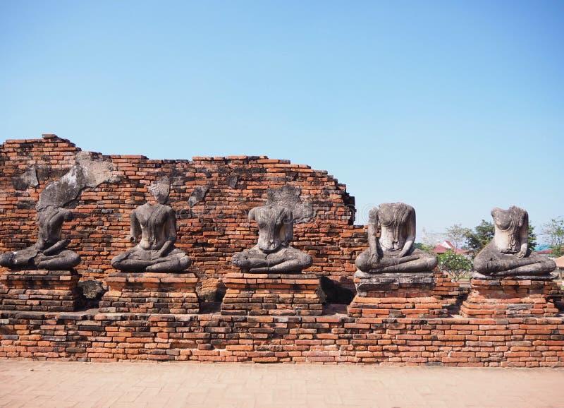 Il Buddha senza testa fotografia stock libera da diritti