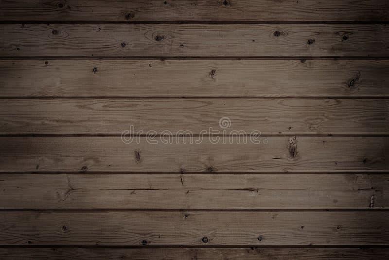 Il buio di legno si imbarca sul fondo fotografie stock libere da diritti