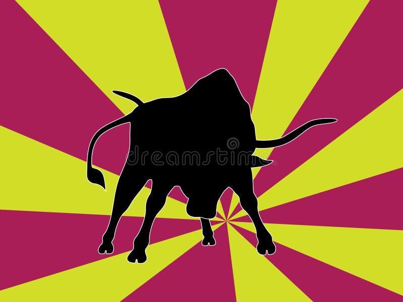 Il Bull immagini stock