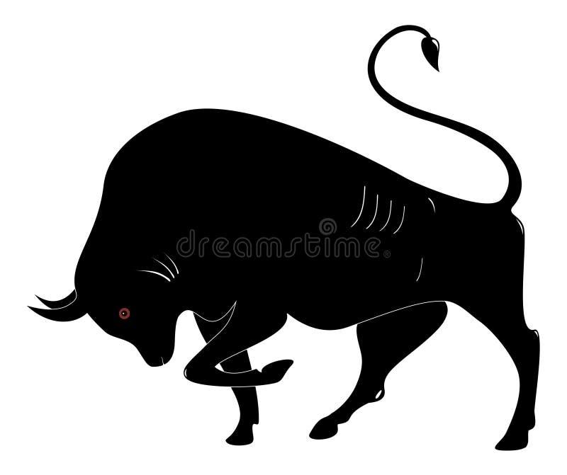 Il Bull immagine stock libera da diritti