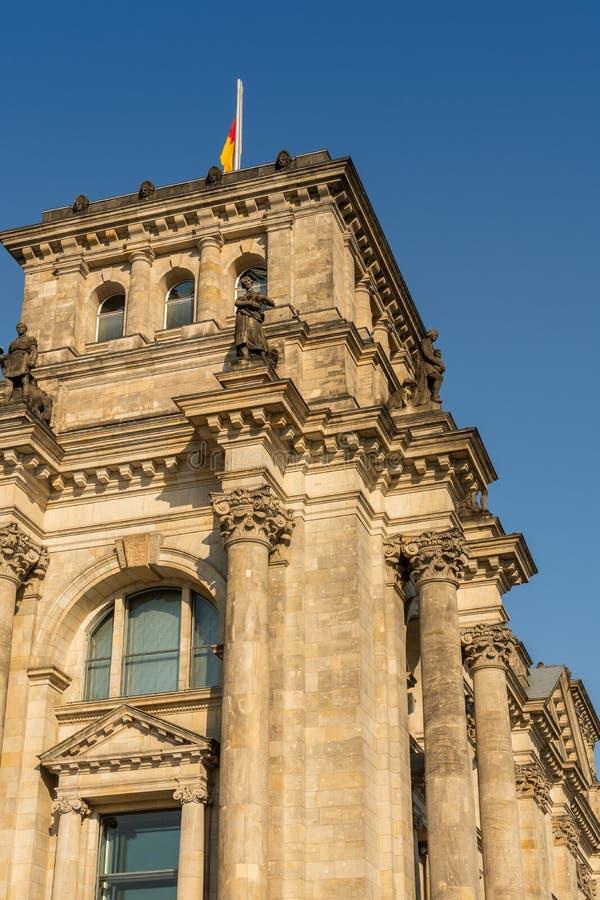 Il Bundestag a Berlino fotografie stock libere da diritti
