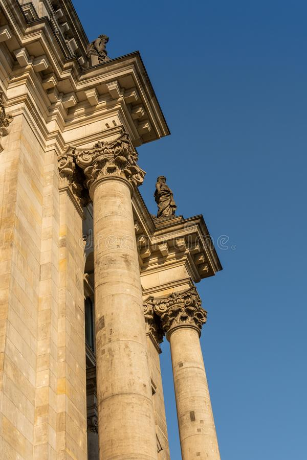 Il Bundestag a Berlino immagine stock