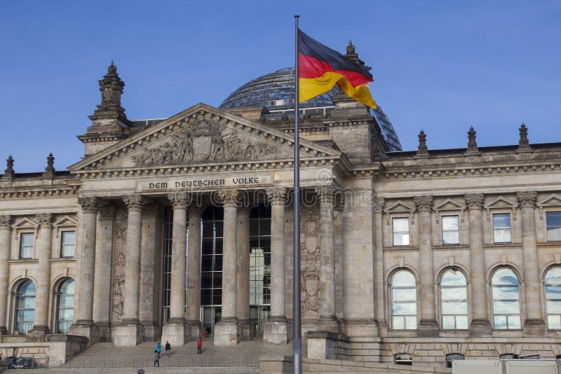 Il Bundestag a Berlino immagine stock libera da diritti