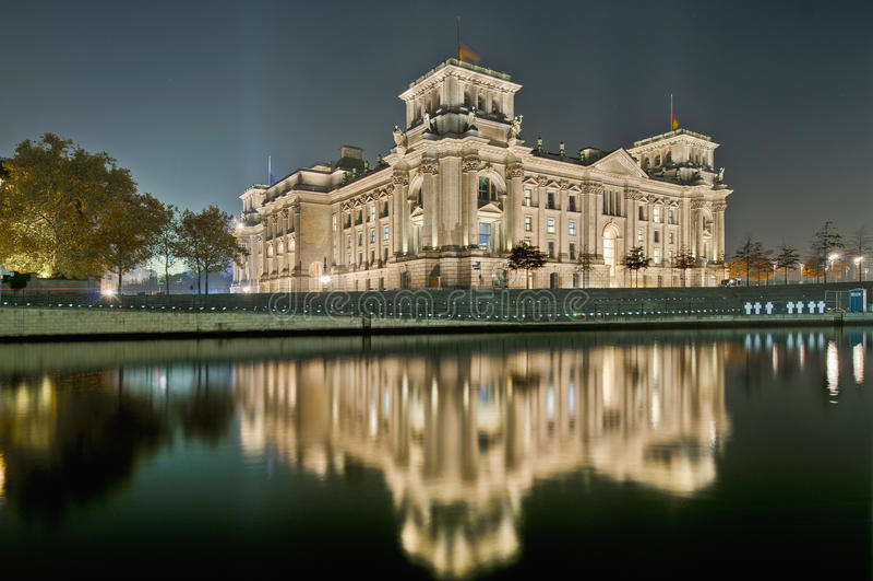 Il Bundestag a Berlino, Germania fotografia stock