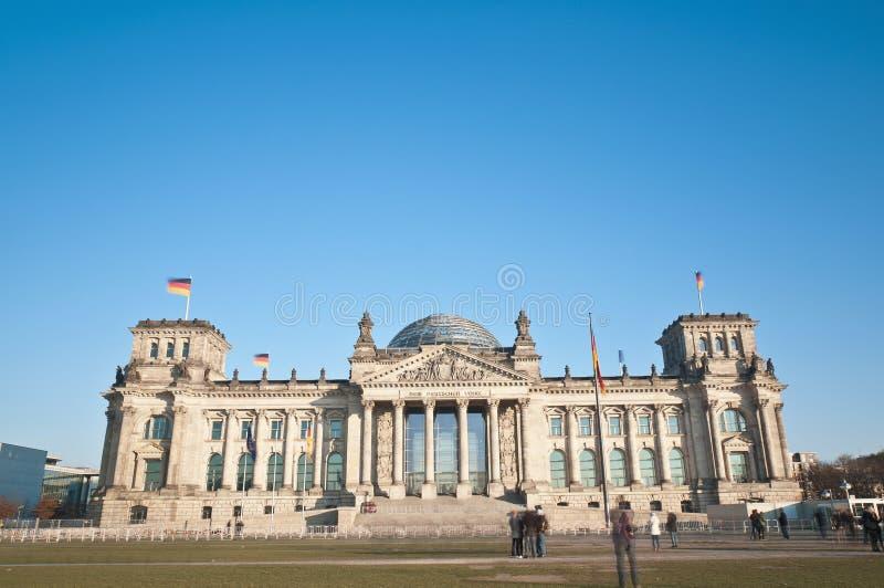 Il Bundestag a Berlino, Germania fotografia stock libera da diritti