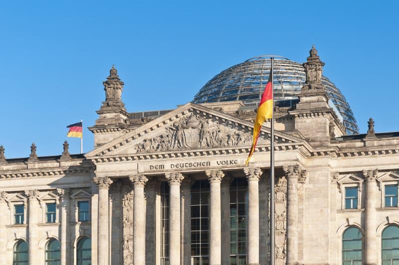 Il Bundestag a Berlino, Germania fotografie stock