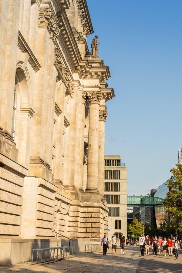 Il Bundestag a Berlino fotografia stock