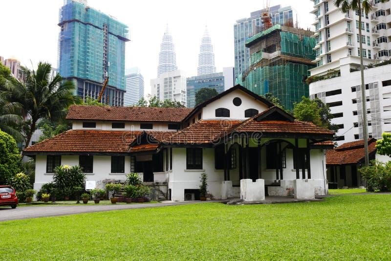 Il bungalow di Badan Warisan Malesia immagine stock libera da diritti