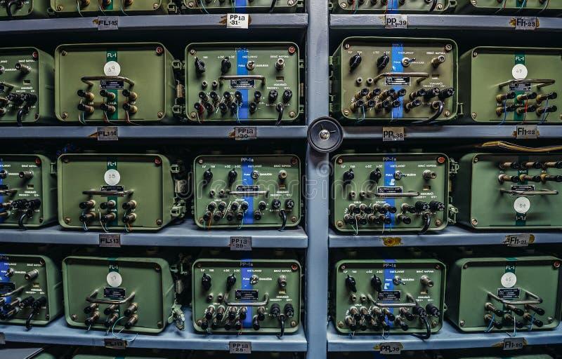 Il bunker di Josip Tito fotografia stock libera da diritti