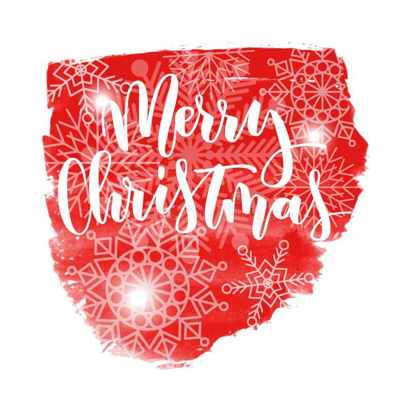 Buon Natale 883.Il Buon Natale Passa L Iscrizione Scritta Illustrazione Vettoriale
