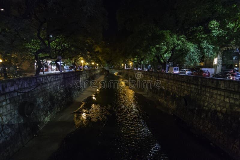 Il Cañada, un posto iconico di Cordova fotografie stock libere da diritti