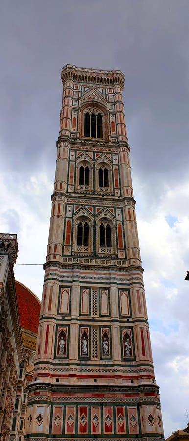 Il campanile di Florence Giotto immagine stock