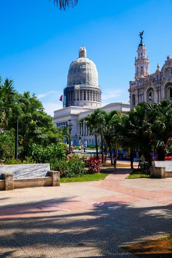 Il Campidoglio cubano fotografie stock