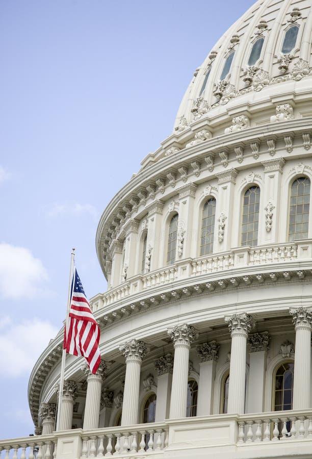 Il Campidoglio degli Stati Uniti a Washington d.c. immagine stock
