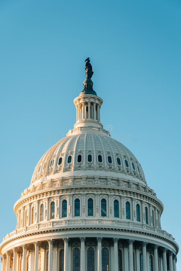 Il Campidoglio degli Stati Uniti, in Washington, DC immagini stock
