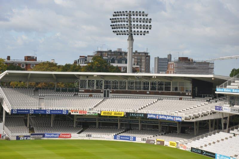 Il campo di cricket di signore a Londra immagine stock libera da diritti