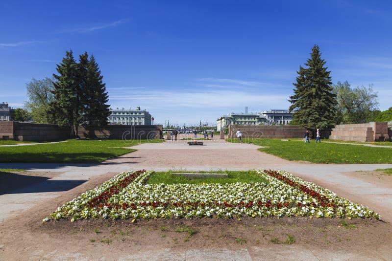 Il campo di Marte ? un complesso commemorativo dedicato a coloro che ? morto durante le rivoluzioni di febbraio e ottobre e la gu fotografia stock