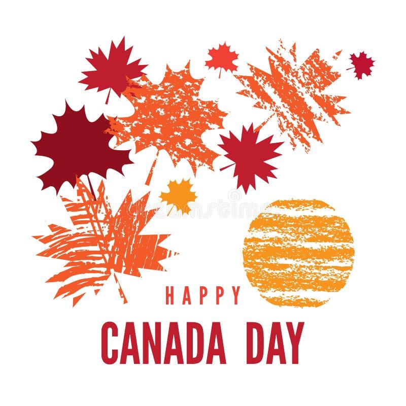 Il Canada day7 royalty illustrazione gratis