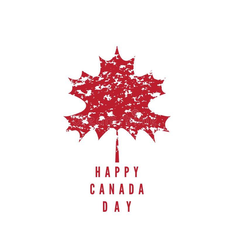 Il Canada day1 royalty illustrazione gratis