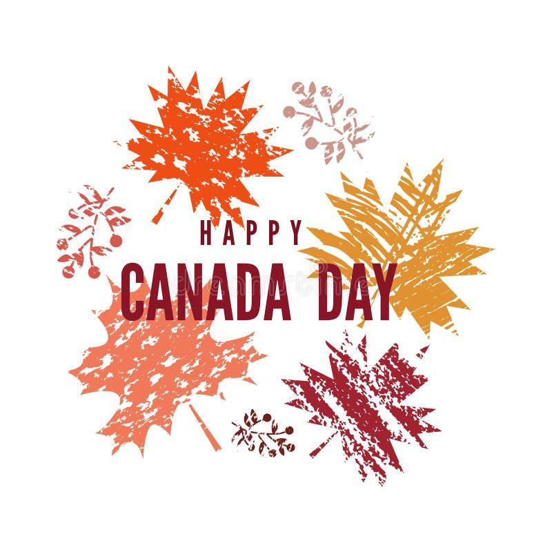 Il Canada day6 royalty illustrazione gratis