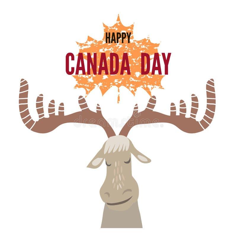 Il Canada day8 illustrazione di stock
