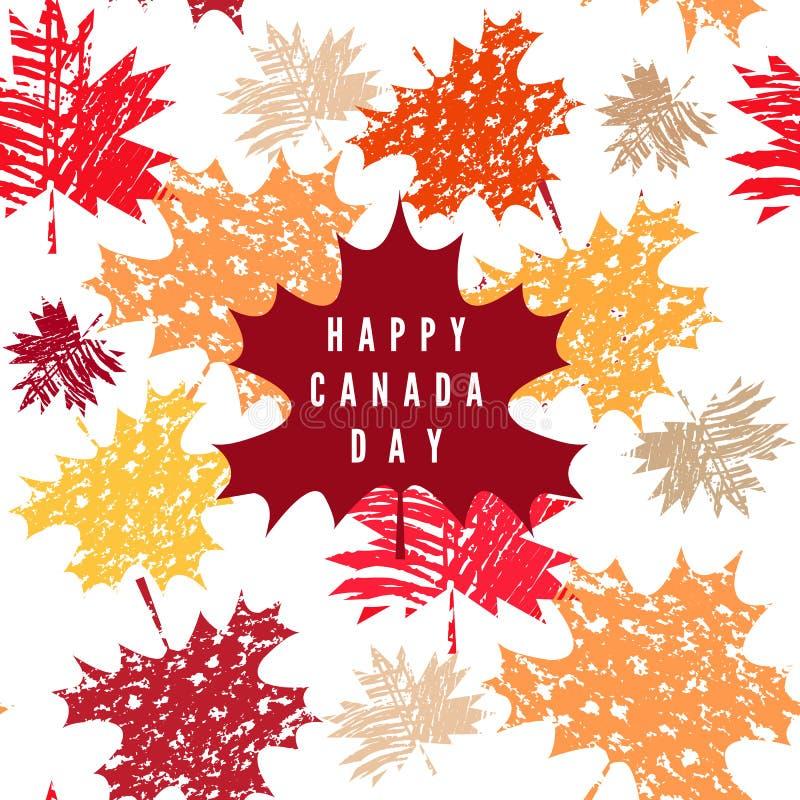 Il Canada day12 royalty illustrazione gratis
