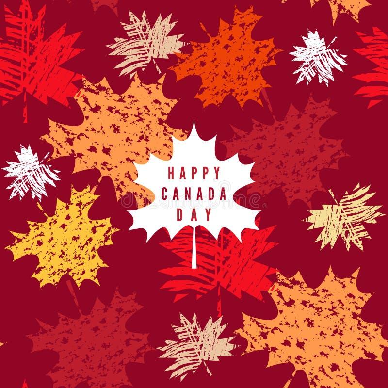 Il Canada day11 royalty illustrazione gratis