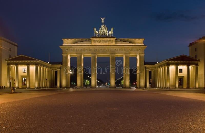 Il cancello di Brandenburger fotografia stock libera da diritti