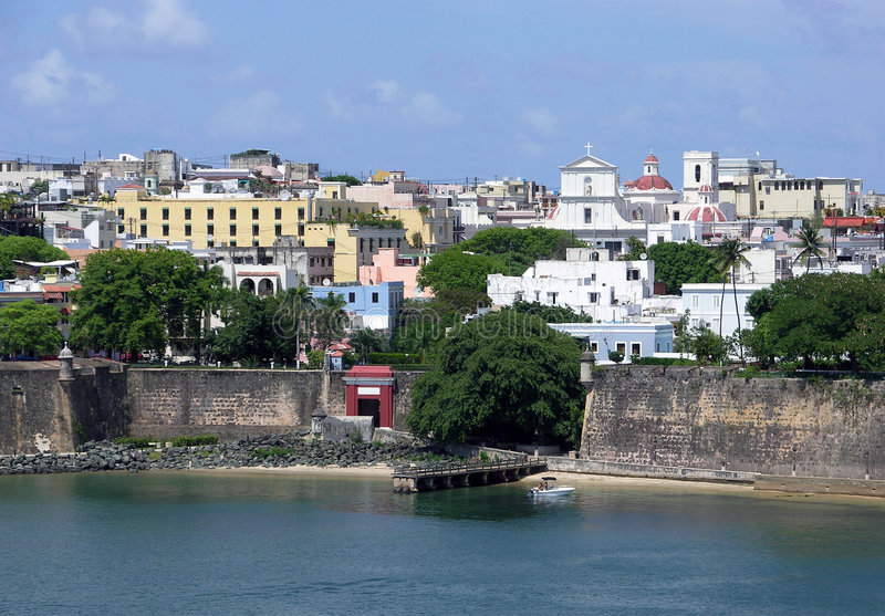 Il cancello a San Juan fotografia stock libera da diritti
