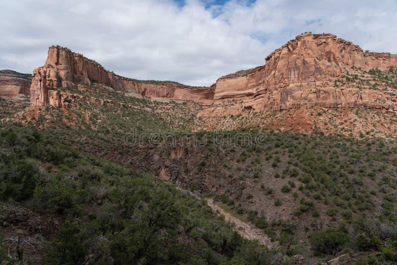 Il canyon del diavolo - Fruita Colorado immagini stock libere da diritti